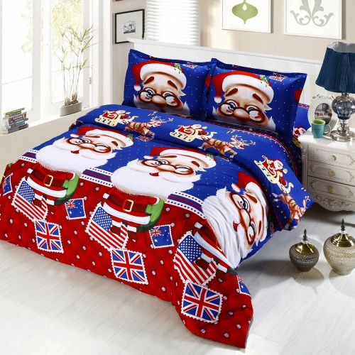 4pcs Cotton Material 3D Printed Cartoon Merry Christmas Gift Santa Claus Comfort Deep Pocket Bedding Set Bedclothes Duvet Quilt Cover Bed Sheet 2 PillowcasesHome Textile<br>4pcs Cotton Material 3D Printed Cartoon Merry Christmas Gift Santa Claus Comfort Deep Pocket Bedding Set Bedclothes Duvet Quilt Cover Bed Sheet 2 Pillowcases<br><br>Blade Length: 28.0cm