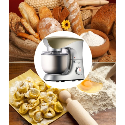 Image of 800W 220-240V Professional Household Electric Flour Egg Blender Milk-shake Stirring Cooking Machine Kitchen Stand Mixer Dough Mixers