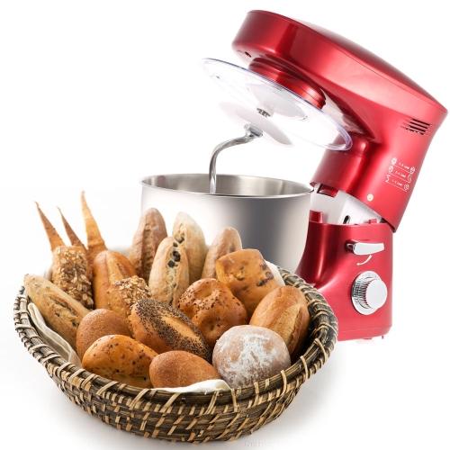 1200W 220-240V farine électrique commerciale professionnelle oeuf mélangeur 6L cuisine batteur Milk-shake Stand Mixer malaxeurs