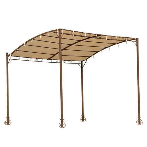 iKayaa 3*2.5*2.5M Metal Patio Wall Gazebo Garden Canopy Door Porch Marquee Polyester RoofPatio Furniture<br>iKayaa 3*2.5*2.5M Metal Patio Wall Gazebo Garden Canopy Door Porch Marquee Polyester Roof<br><br>Blade Length: 253.0cm