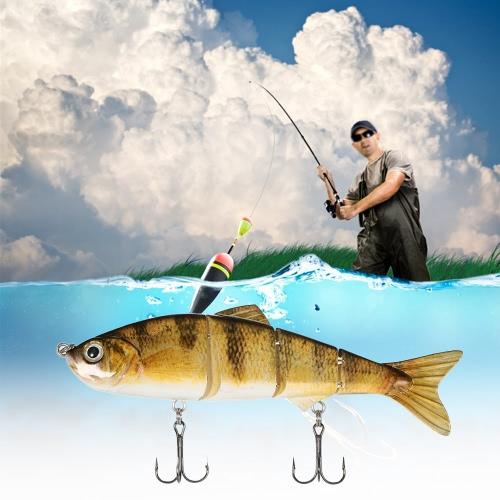 Lixada 120mm 17g 4.72 4 Segments Multi-Jointed Hard Fishing Lure Life-like Swimbait Crank Bait 2 Treble VMC HooksFishing Lures<br>Lixada 120mm 17g 4.72 4 Segments Multi-Jointed Hard Fishing Lure Life-like Swimbait Crank Bait 2 Treble VMC Hooks<br><br>Blade Length: 20.0cm