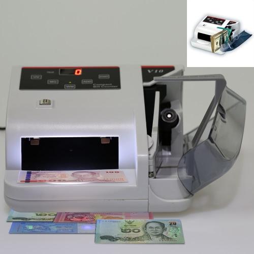 Compact Bank Note multi-devises compteuse papier monnaie détecteur billets Cash Money compteuse rapide 100-240 v