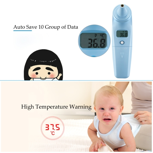 Yijan Handheld Digital IR Infrared Thermometer for Adult Baby Quick Measurement LCD Display
