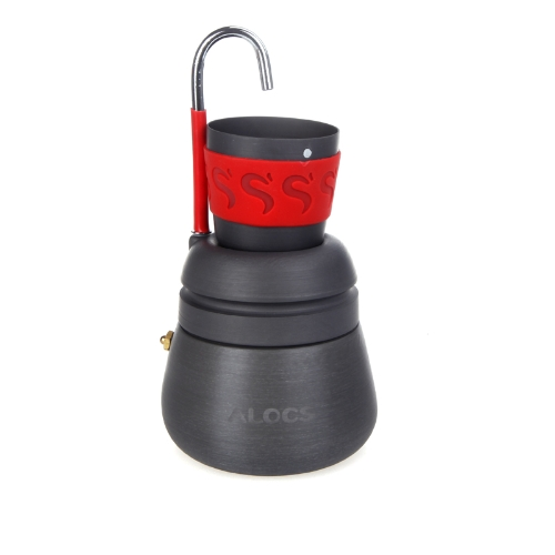 350ml Portable Outdoor Camping Hiking Coffee Maker Pot with 2 Cups H10058