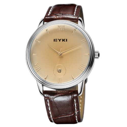 EYKI Fashion Classic Lovers Watch Table Quartz Calendar Leather Watchband EET8731 Men Male BrownQuartz Watches<br>EYKI Fashion Classic Lovers Watch Table Quartz Calendar Leather Watchband EET8731 Men Male Brown<br><br>Blade Length: 22.0cm