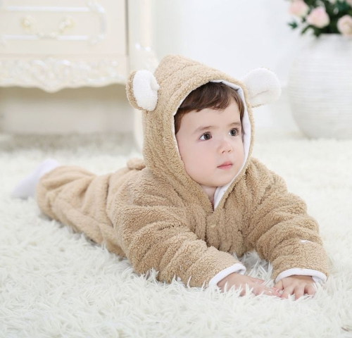 Unisex One-Piece Warm Thick Fleece Siamese Romper Jacket Coat for Baby Boy Girl Kids Toddler Animal Style Autumn &amp; Winter Open Legs BrownBaby Gear<br>Unisex One-Piece Warm Thick Fleece Siamese Romper Jacket Coat for Baby Boy Girl Kids Toddler Animal Style Autumn &amp; Winter Open Legs Brown<br><br>Blade Length: 39.0cm