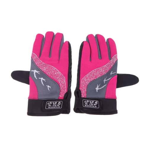 Men Women Touch Screen Gloves Full Finger Cycling Skiing Hiking Riding Shock-absorbing Outdoor Sports Unisex H12659RO-L
