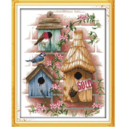 DIY Handmade Needlework Counted Cross Stitch Set Embroidery Kit 14CT H12675