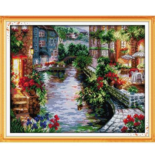 DIY Handmade Needlework Counted Cross Stitch Set Embroidery Kit 14CT H12676