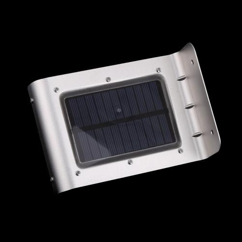 Sensor de movimento de som de luz Solar Power LED 16 Powered lâmpada energia economia de parede jardim quintal rua iluminação ao ar livre от tomtop.com INT