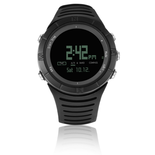 Multifunction Spovan SPV806 Chronograph/Barometer/Altimeter/Thermometer/Compass Outdoor Fashion Sports Men Women Watch H13099B