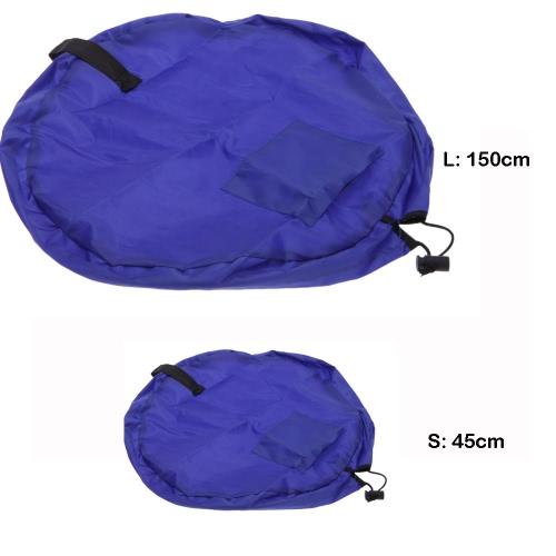 Portable Play Mat Storage Bag Toys Organizer