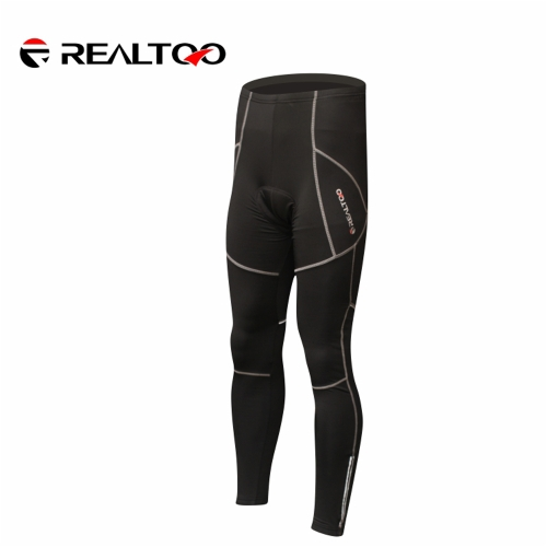 Cycling Clothing Protective Hip Pad Padded Thermal Winter Warm Fleece Long Pants Sportswear Bicycle Bike Outdoor Trousers Breathable Men H13430-3XL
