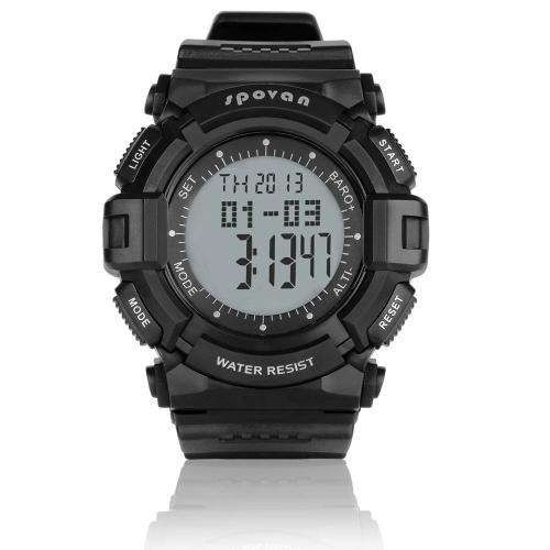 3ATM Waterproof Sports Spovan Blade-�� Multifunction Outdoor Digital Watch Barometer Altimeter Thermometer Weather Forecast Stopwatch