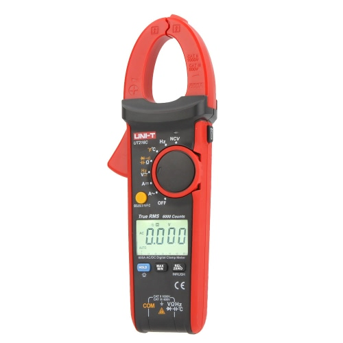DIY Electronics H13522 UNI-T UT216C 600A True RMS Digital Clamp Meters Auto Range w/Frequency Capacitance Temperature & NCV Test