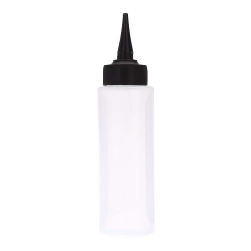 150ml Plastic Bottle with Twist Caps Squeeze Scale Home Use or Salon Hair Dry Cleaning  Washing Pot H13557
