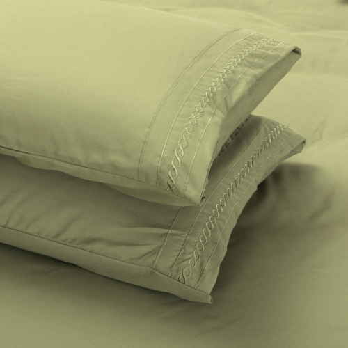 50 * 75 CM Shads Embroider Cording 2Pcs Pillow Cases Bedclothes Home TextilesStorage &amp; Organization<br>50 * 75 CM Shads Embroider Cording 2Pcs Pillow Cases Bedclothes Home Textiles<br><br>Blade Length: 20.0cm