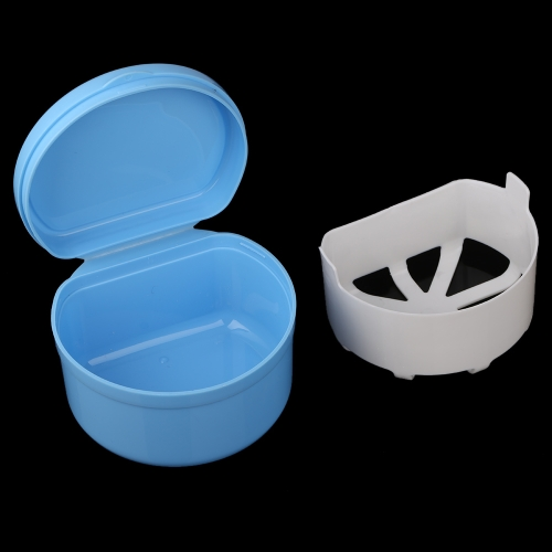 Autoclavable Denture Box Container Denture Cleaning Storage Mouth Tray Holder For Mouth Care