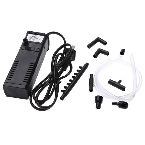 3 in 1 Portable Aquarium Internal Filter Multi-Functional Water Pump for Fish Tank 220-240V 5W H14026-5