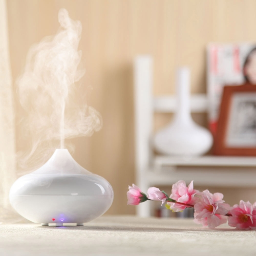 Ultrasonic Air Humidifier Aroma Oil Diffuser Ionizer Generator Aromatherapy Office Purifier Mist Maker 12W