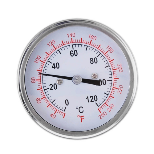 0-250¡æ Stainless Steel Analog Thermometer Gauge for Oven Grill BBQ Dual Scale H15157