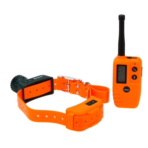 Professional Rechargeable Pet Trainer Remote Control Dog Training Vibrating Bark Control Collar H15189