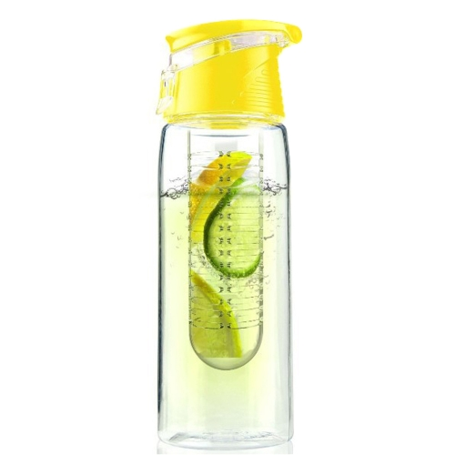 800ml Portable Plastic Fruit Juice Kettle Outdoor Sport Water Bottle