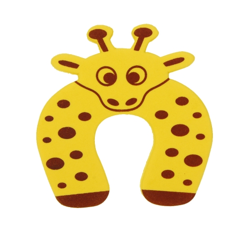 Animal Cartoon Stop Door Stopper Holder Lock Safety Guard Finger Protection for Children Kids Baby H15263Y