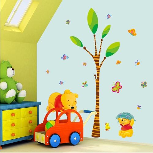 Buy Removable Wall Decal Sticker Cartoon Bear DIY Wallpaper Art Decals Mural Room Decoration 50 * 70cm