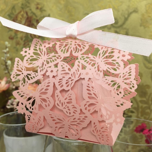 20pcs Romantic Butterfly DIY Candy Cookie Gift Box for Wedding Party with Ribbon PinkWedding Supplies<br>20pcs Romantic Butterfly DIY Candy Cookie Gift Box for Wedding Party with Ribbon Pink<br><br>Blade Length: 22.5cm