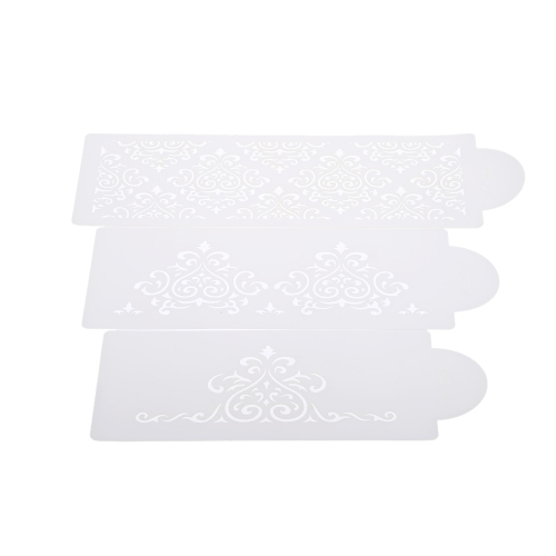 S043 Cake Decoration Tool Cakes Border Stencil Culinary Stencils Set H15520