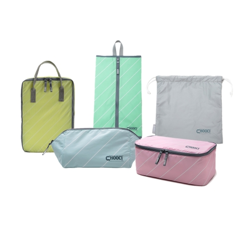 CHOOCI Lightweight Traveling Handy Durable Multifunction Storage Bags Set for Business Trip with Five Separate Bags in Five Refreshing ColorsStorage &amp; Organization<br>CHOOCI Lightweight Traveling Handy Durable Multifunction Storage Bags Set for Business Trip with Five Separate Bags in Five Refreshing Colors<br><br>Blade Length: 27.0cm