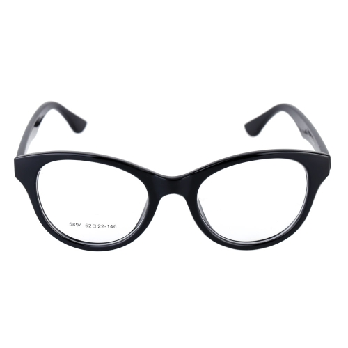 Fashionable Ultralight Black Big Lenses Eyeglass Glasses Frame