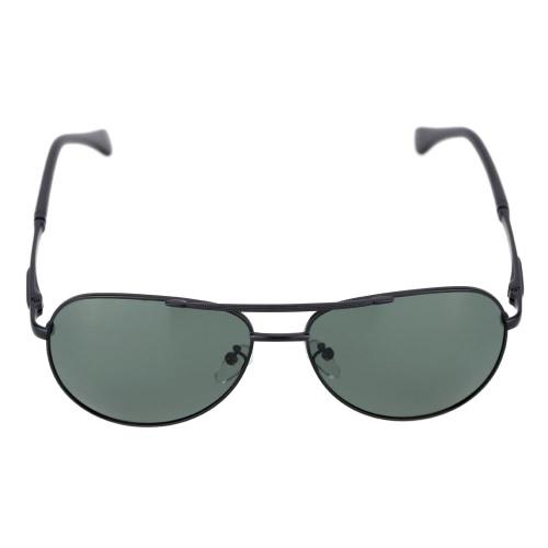 Classic Black Huge Lenses Sunglasses Polarized Glasses for Men WomenGlasses<br>Classic Black Huge Lenses Sunglasses Polarized Glasses for Men Women<br><br>Blade Length: 18.5cm