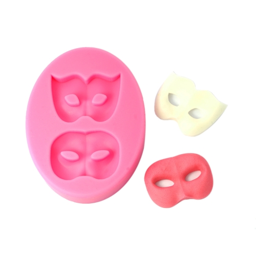ANSELF MJ-SM-213 Silicone Mold Cake Cupcake Decoration Beautiful Fondant Chocolate Baking Mould Mask Pattern Mat H15867