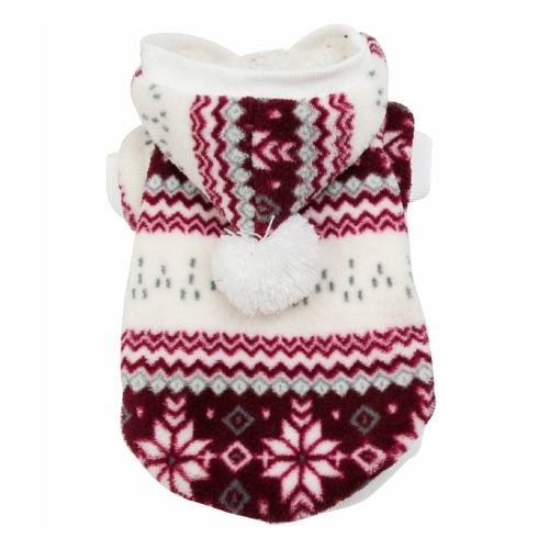 Super Soft Warm Pet Dog Puppy Clothes Snowflake Pattern Coat for Winter Brown MDog Clothing<br>Super Soft Warm Pet Dog Puppy Clothes Snowflake Pattern Coat for Winter Brown M<br><br>Blade Length: 33.0cm