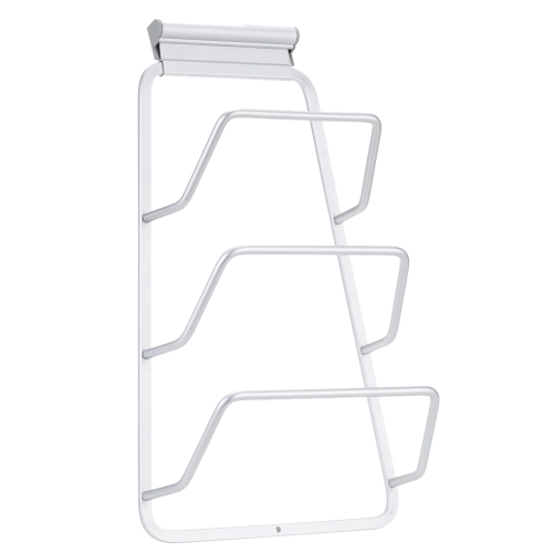 Practical Pot Lid Holder High Quality Door Mounted Pot Lid Rack for 3 Lids Awesome Cookware Product H16037