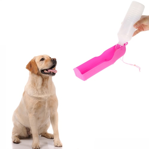 Potable Pet Dog Cat Water Feeding Drink Bottle Dispenser 500ml PinkPet Beds &amp; Grooming<br>Potable Pet Dog Cat Water Feeding Drink Bottle Dispenser 500ml Pink<br><br>Blade Length: 26.0cm