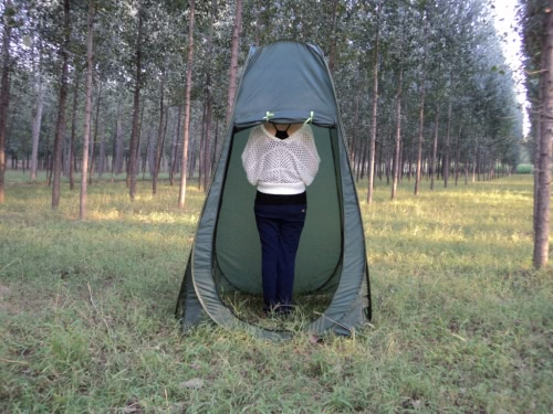 Portable Outdoor Changing Clothes Shower Tent Camp Toilet Pop-up Room Privacy Shelter Multi-useTents<br>Portable Outdoor Changing Clothes Shower Tent Camp Toilet Pop-up Room Privacy Shelter Multi-use<br><br>Blade Length: 60.0cm