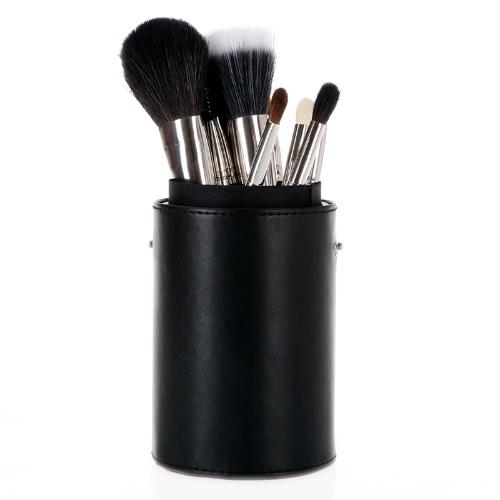 13pcs Professional Makeup Brush Set Cosmetic Brush Kit Makeup Tool with Cup Holder Case Black