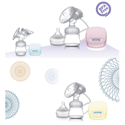 Safe BPA-Free Single Comfortable Slient Electric Breast
