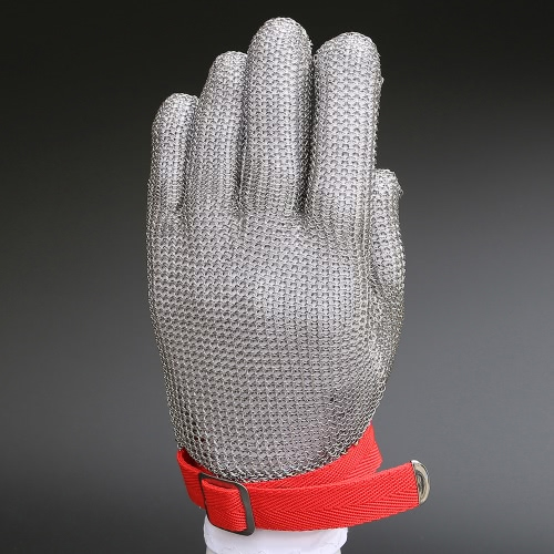 High-quality Stainless Steel Mesh Knife Cut Resistant Chain Mail Protective GloveHousekeeping &amp; Organization<br>High-quality Stainless Steel Mesh Knife Cut Resistant Chain Mail Protective Glove<br><br>Blade Length: 25.0cm