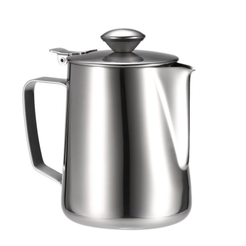 Stainless Steel Milk Frothing Pitcher Milk Foam Container Milk Cup Espresso Measuring Cups Coffe Appliance H17595L