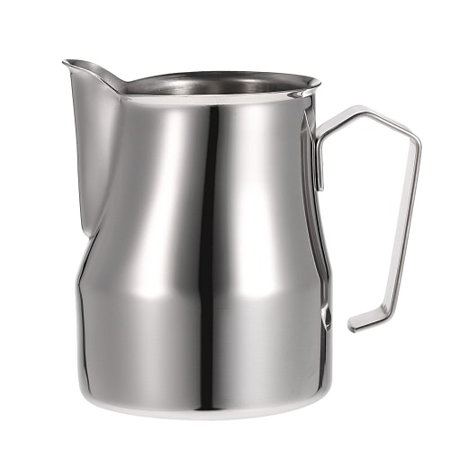 304 Stainless Steel Professional Italian Type Milk Frothing Pitcher Milk Foam Container Espresso Measuring Cups Coffe Appliance H17605L