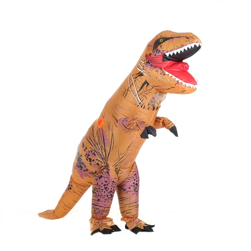 Funny Kids Inflatable Dinosaur Trex Costume Suit Air Fan Operated Blow Up Halloween Cosplay Fancy Dress Animal Costume JumpsuitOther Holiday Supplies<br>Funny Kids Inflatable Dinosaur Trex Costume Suit Air Fan Operated Blow Up Halloween Cosplay Fancy Dress Animal Costume Jumpsuit<br><br>Blade Length: 35.0cm