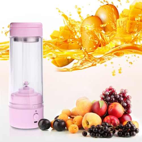400ml Handy Portable Chargeable Electric Juice Cup Multifunctional Juice Glass Mini Juice Maker