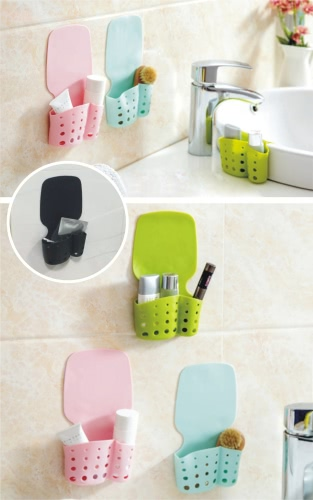 Kitchen Bathroom Sundries Traceless Draining Hanging Storage Bag Cleaning Sponge Holder OrganizerCooking Tools<br>Kitchen Bathroom Sundries Traceless Draining Hanging Storage Bag Cleaning Sponge Holder Organizer<br><br>Blade Length: 10.5cm