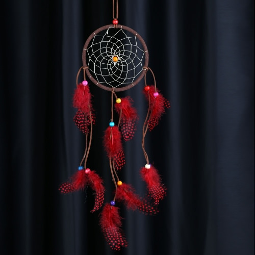 Traditional Indian Style Dream Catcher with Wave Point Real Feather Bead Wall Home Decoration Car Ornament 4.92Diameter 19.69LongOther home decoration<br>Traditional Indian Style Dream Catcher with Wave Point Real Feather Bead Wall Home Decoration Car Ornament 4.92Diameter 19.69Long<br><br>Blade Length: 14.0cm