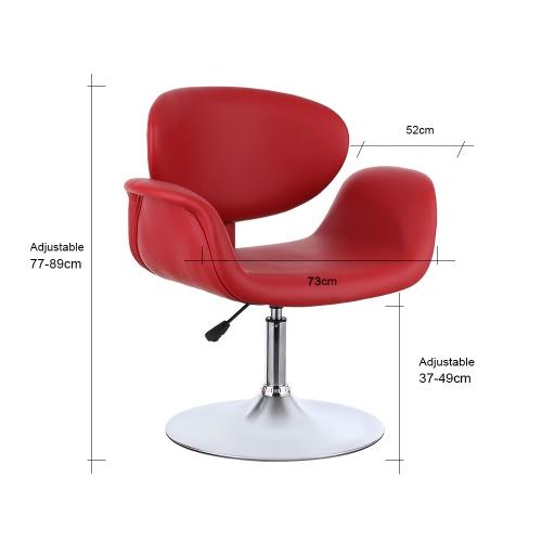 iKayaa Modern Ergonomic Adjustable PU Leather Salon Barber Chair Stool Padded Pneumatic Haidresser ChairIndoor furniture<br>iKayaa Modern Ergonomic Adjustable PU Leather Salon Barber Chair Stool Padded Pneumatic Haidresser Chair<br><br>Blade Length: 73.5cm