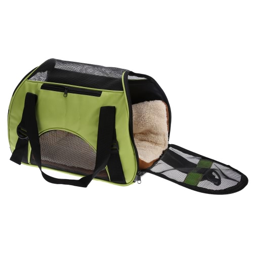 Fashion Portable Pet Dog Cat Carrier Folding